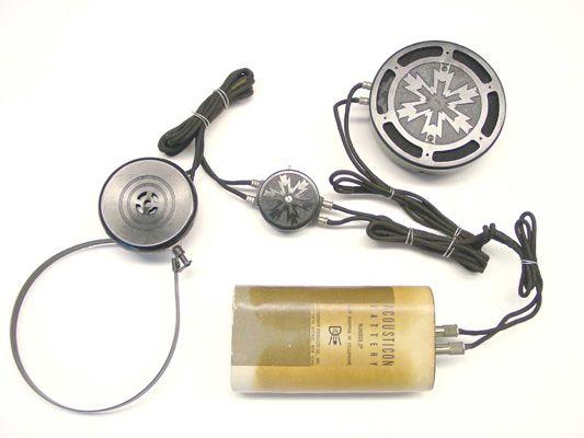 A 20th century hearing aid