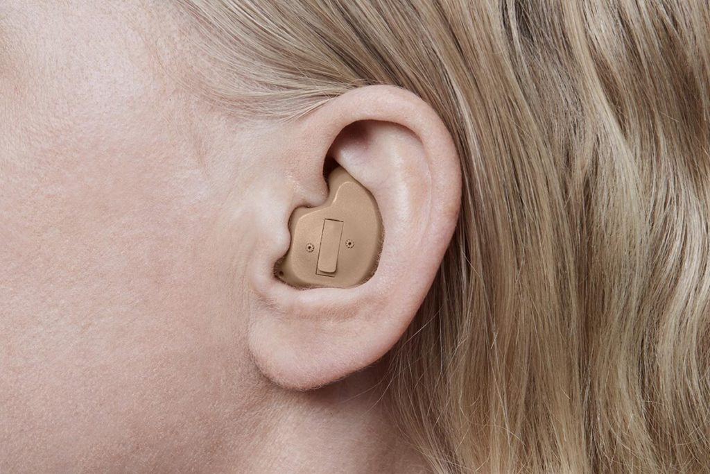 in the ear/full shell device
