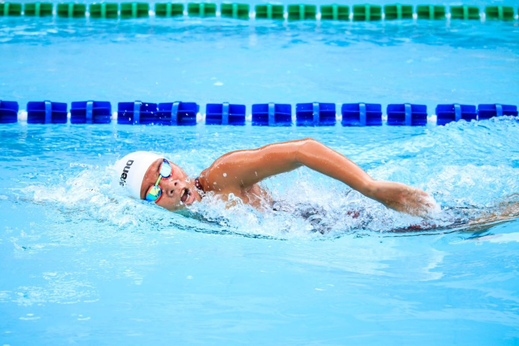 Avoid too much water in ears - swimming